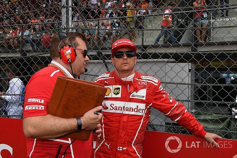 Raikkonen'in yarış mühendisi Ferrari'den ayrılıyor