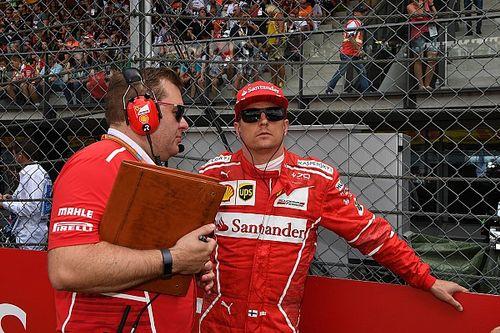 Räikkönen in Barcelona: Endgültiger Abschied von Renningenieur