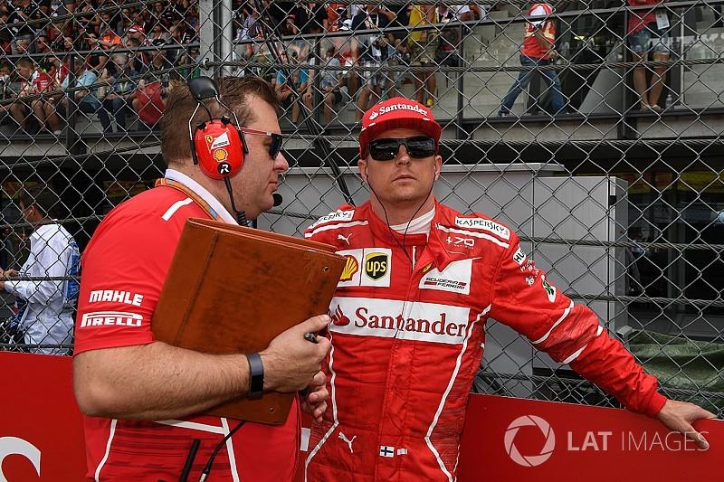 Engenheiro de pista de Kimi Raikkonen deixa Ferrari
