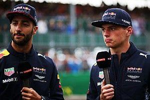 Verstappen deu cervejas a Ricciardo para se desculpar