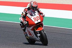 【Moto2】予選5番手の中上貴晶「決勝の準備はOK。勝機は十分ある」