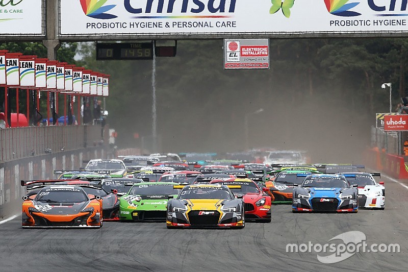 Blancpain Zolder: Audi domineert in hoofdrace, P3 Frijns