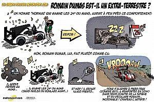 L'humeur de Cirebox - Romain Dumas, l'extra-terrestre!