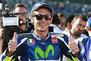 "Sick Rossi relieved to take ""fantastic"" pole"
