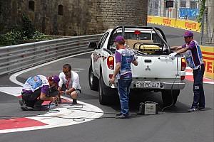 FIA F2 Отчет о квалификации Квалификация GP2 перенесена из-за проблемы с поребриками
