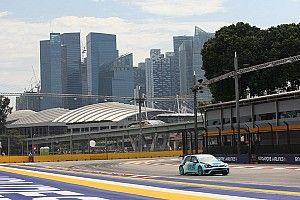 Vernay vola con la Golf nelle Libere di Singapore