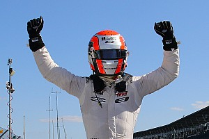 Indy Lights Race report Jones wins after stirring late-race battle