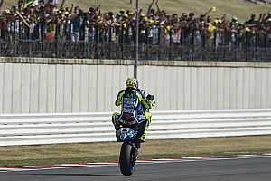 """Rossi: Second place """"a shame"""" but victory was """"impossible"""""""
