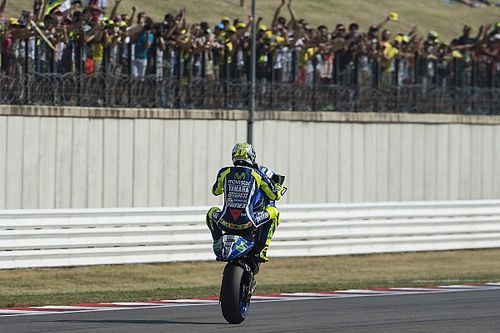 "Rossi: Second place ""a shame"" but victory was ""impossible"""