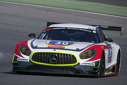 Two generations of GT3 Mercedes lock out front row for the Hankook 12H Zandvoort