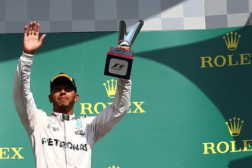 Hamilton wins first Driver of the Day after Spa comeback