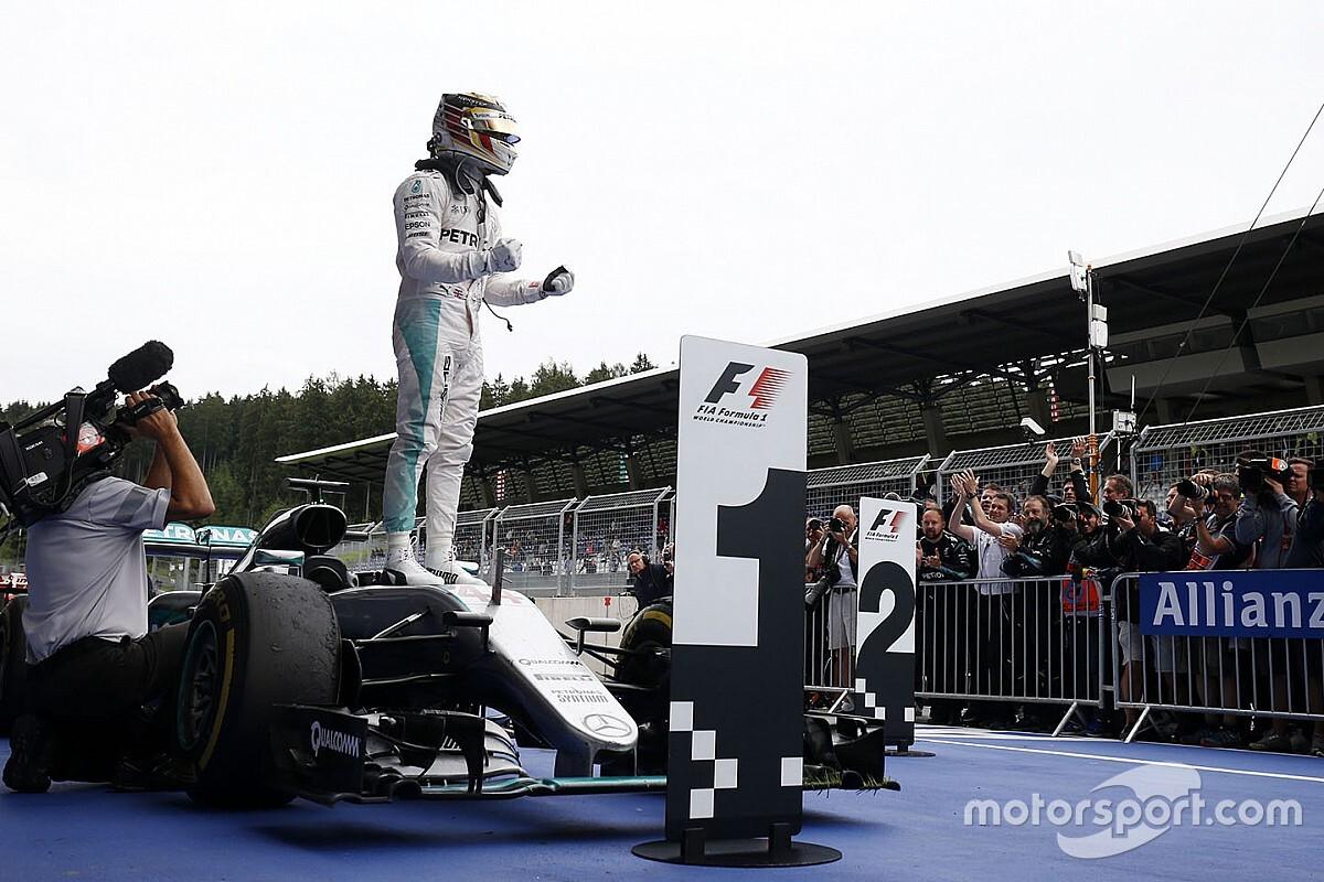 """Hamilton faz desabafo em publicação: """"Sinto falta de correr todos os dias"""""""