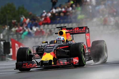Red Bull: Practicing in home track