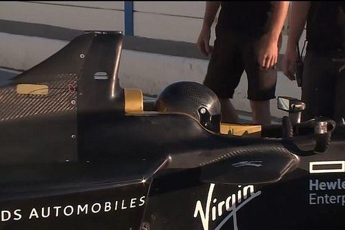 Video, ecco José María López al debutto su una vettura di F.E!