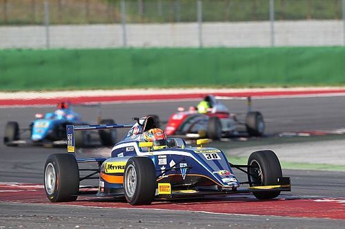 Misano F4: Maini secures rookie podium despite penalty
