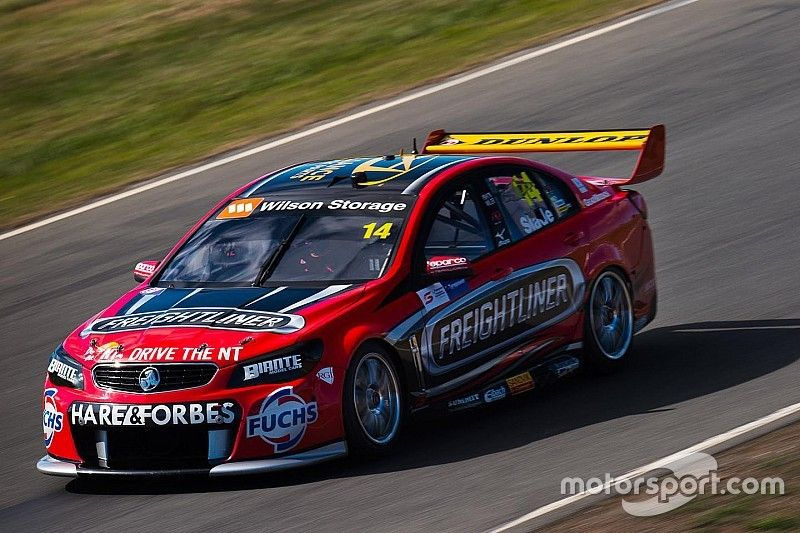 Winton V8s: Slade sets record pace in FP1
