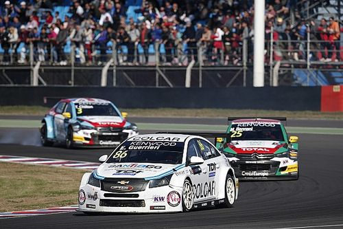 """Guerrieri """"in love"""" with WTCC after Argentina debut"""