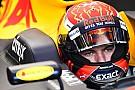 Verstappen podyumu kaçırdığı için üzgün