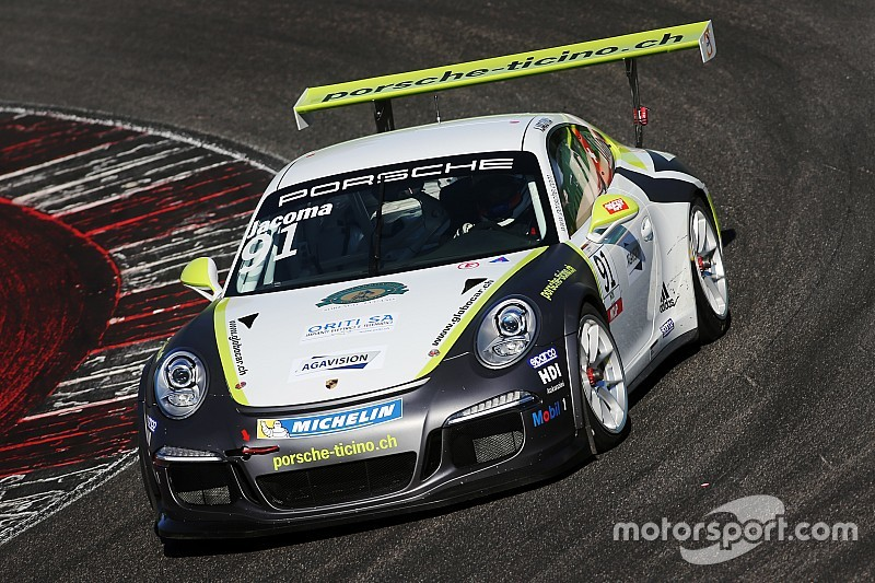 Carrera Cup Italia, Misano: Jacoma dalla coda in autostrada alla pole Michelin Cup!