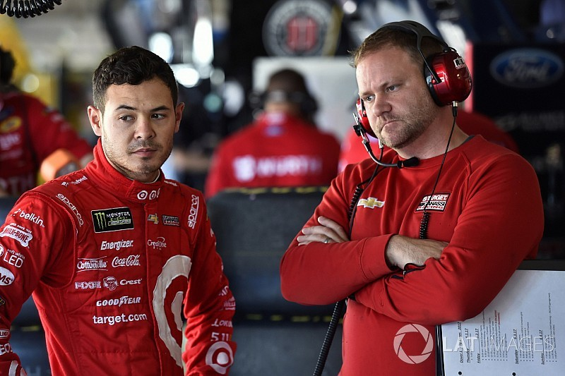 Kyle Larson's crew chief suspended after Kentucky infraction
