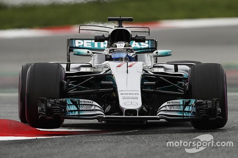 Bottas plus à l'aise, Hamilton subjugué par sa Mercedes
