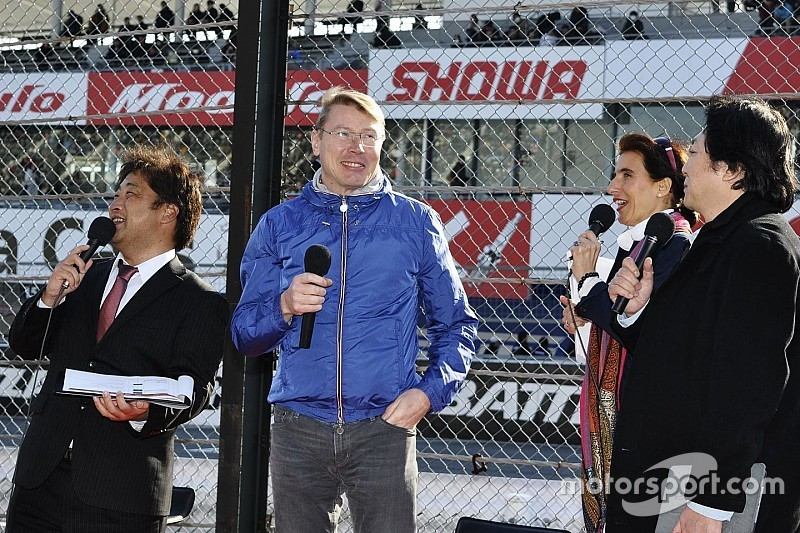 【F1】ハッキネン「メルセデスが印象的、フェラーリもなかなかだ」