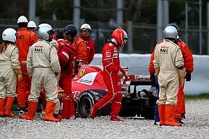 Fórmula 1 Noticias Al sexto día, el rojo Ferrari fue gris