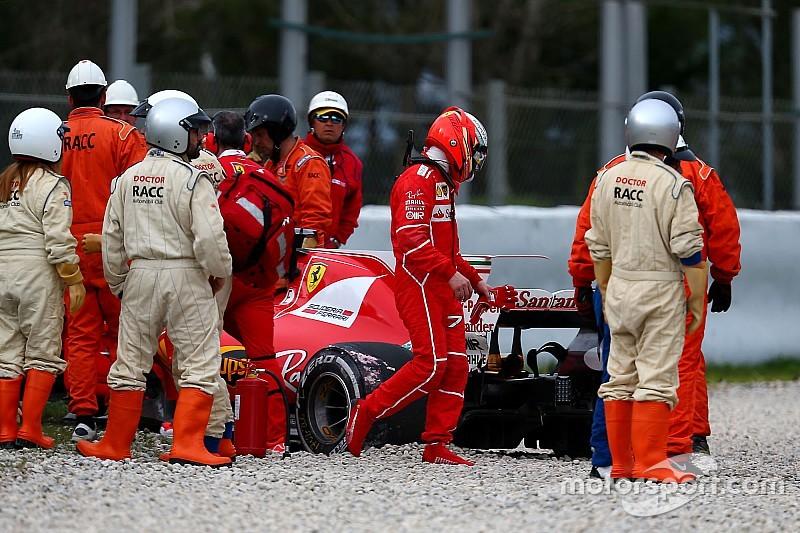 Barcelone, J6 - Mercedes au top, Ferrari dans le mur