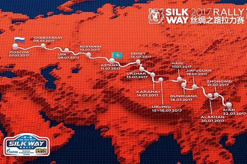 Silk Way Rallye: un périple de 10'000 km pour Loeb et compagnie
