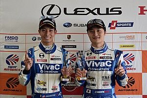 【スーパーGT】オートポリス予選GT300:25号車VivaC、驚速ポール獲得