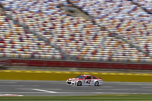 Larson takes All-Star Race pole after Kurt Busch penalty