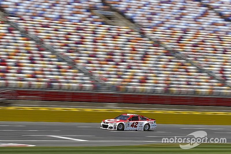 Larson takes All-Star Race pole after Kurt Busch penalty
