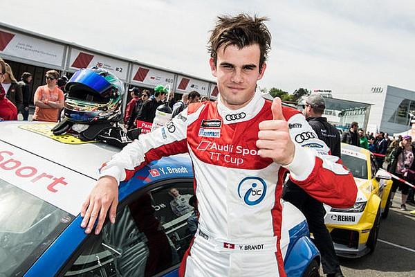 Turismo Audi TT Cup: Yannik Brandt a podio nel dominio di Ellis!