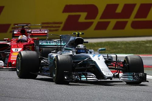 """Bottas: """"Era mi trabajo taponar a Vettel"""""""