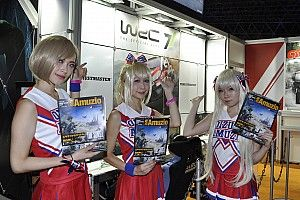 東京ゲームショウ開幕。WRC公式ゲーム『WRC7』試遊ブースが出展