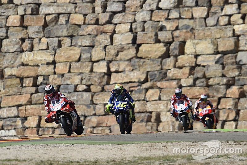 Los horarios del Gran Premio de Aragón de MotoGP