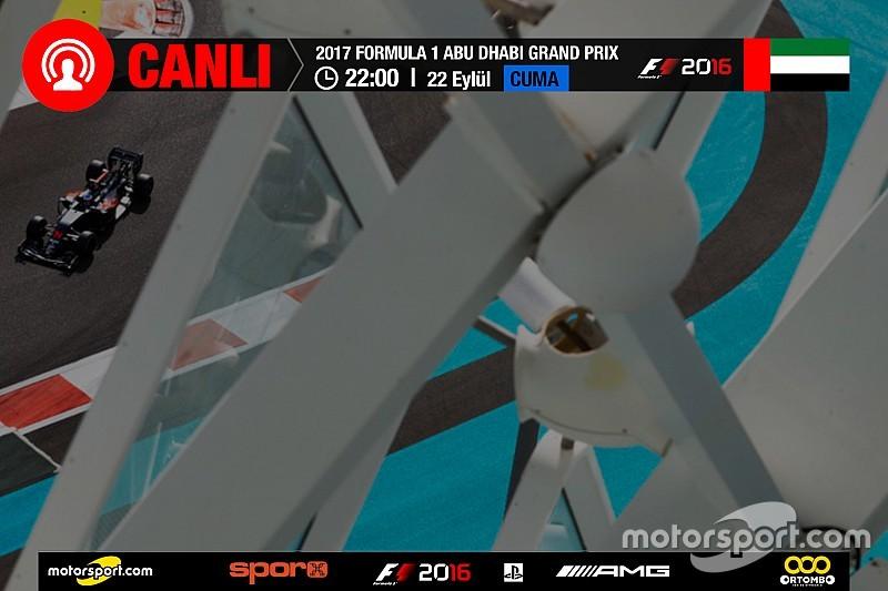 Şampiyonluk yarışı Abu Dhabi GP: CANLI YAYIN