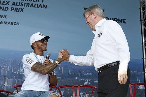 Hamilton, Mercedes'e katılmasında Brawn'ın rolünü açıkladı