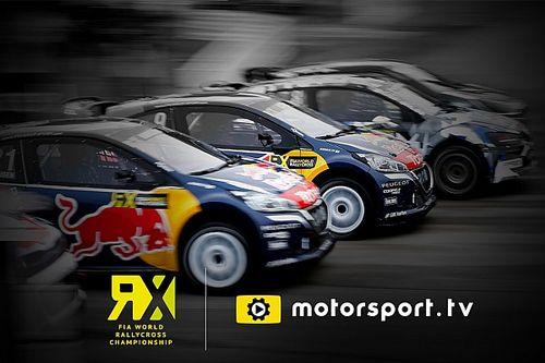 Motorsport.tv va diffuser le World RX en direct et en exclusivité au Royaume-Uni et en Irlande