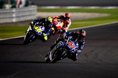 MotoGP 2017: Vinales erstaunt über Rossis Comeback in Katar