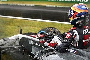 Grosjean marah usai kecelakaan di kualifikasi GP Italia