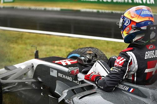 Furious Grosjean says Monza qualifying should never have started