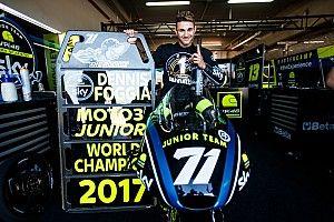Dennis Foggia è campione del mondo Junior nel CEV Moto3