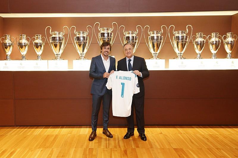 Fernando Alonso, nombrado Socio de Honor del Real Madrid
