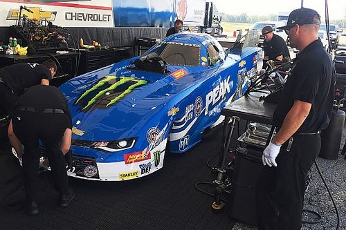 Brittany Force completes first Funny Car test