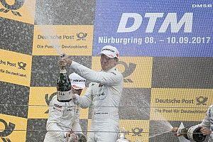 Nurburgring DTM: Wickens 2. yarışı kazandı, Auer spin attı
