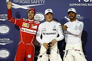 Formula 1 Hasil Grid start balapan GP Bahrain 2017