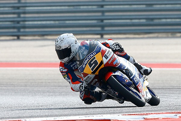 Austin Moto3: Fenati wins red-flagged race after Canet crash