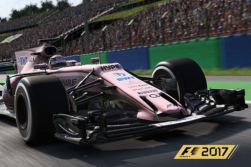 Появились скриншоты Force India VJM10 из игры F1 2017