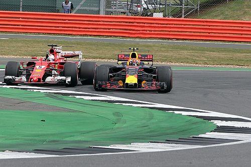 Analisi: perché Vettel con l'ala aperta non ha passato Verstappen?